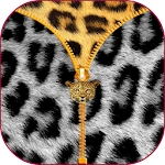 Leopard Zipper Screen Lock Icon
