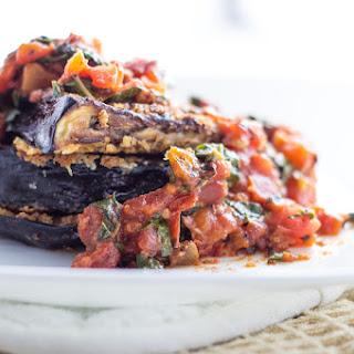 Perfect Crispy Eggplant Parmesan With Basil