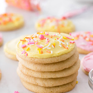 Super Soft Sugar Cookies Recipe