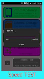SD Card Test Tool 2018 - náhled