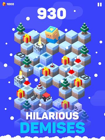 android Ice Hill: Endless Xmas Fun Screenshot 5
