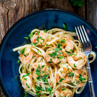 Italian Shrimp Bake with Pasta
