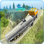 Offroad Oil Tanker Transporter Icon