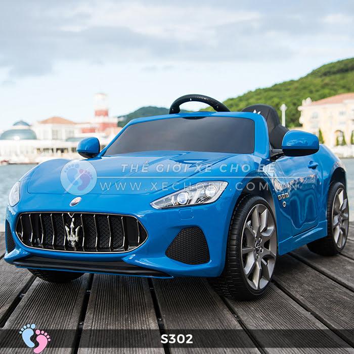 xe oto dien cho be Maserati S302 11