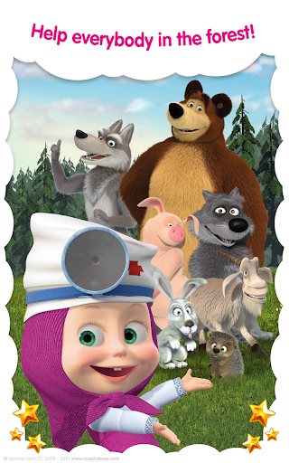 Masha and the Bear: Free Animal Games for Kids  screenshots 18