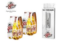 Angebot für Gratis-Powerbank von SOL im Supermarkt