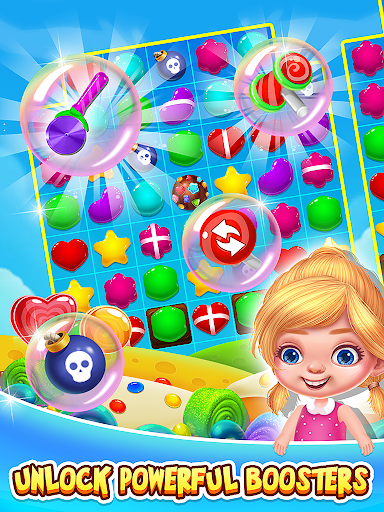 Sweet Candy Bomb - Match 3 Games 1.0.1 de.gamequotes.net 4
