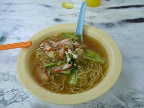Photo: Georgetown, Penang - Wantan Mee, medium w extra wantan (meat?) for 3.5RM, photo taken 110409