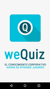 weQuiz- screenshot thumbnail