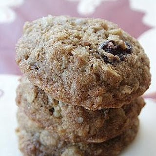 Whole Wheat Oats Cranberries Cookies