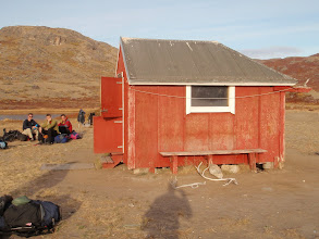 Photo: Greenland - The hut at the end of Day 1