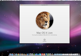Photo: OS X Lion is ready to install