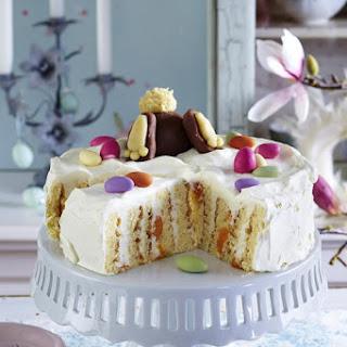 Easter Bunny Cake.