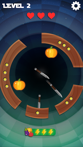 Knife Spin Free Fire - Hit the button & knock down 1.1.1 screenshots 2