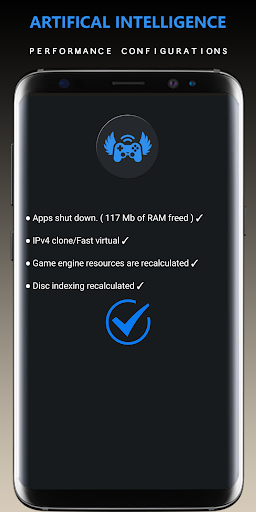 Game Booster Pro -x4 Power    GFX Tool    Lag Fix screenshot 2
