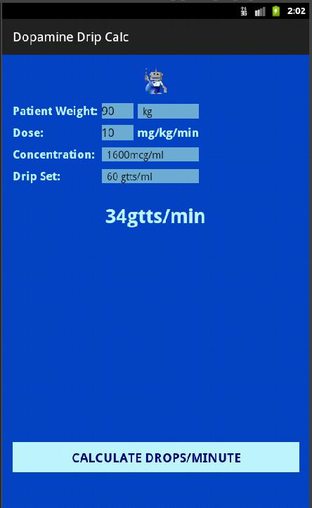 Dopamine dose calculation  Jill scott insomnia