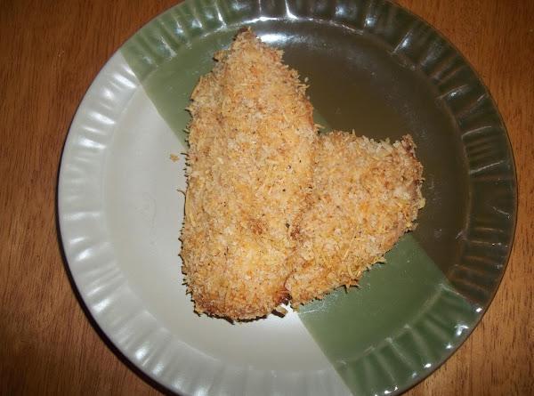 W/w Parmesan/ Panko Oven Fried Chicken Recipe