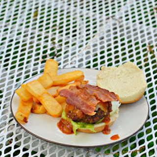 Bourbon BBQ Bacon Burger Sliders