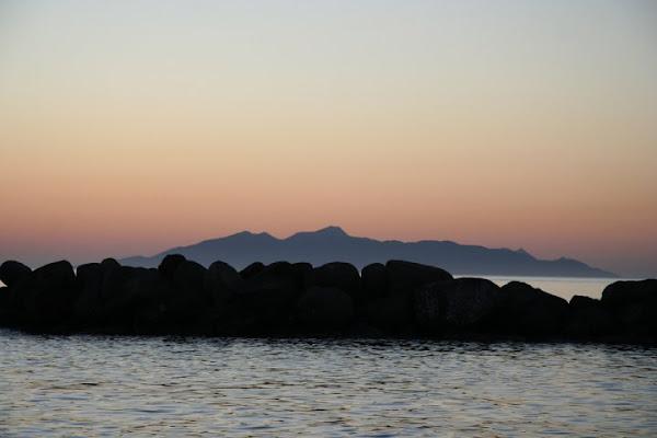 L'aurora a Santorini di barbaresi
