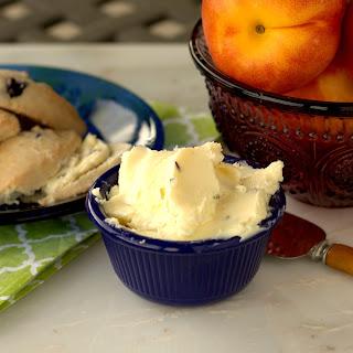 Lavender-Sea Salt Butter.