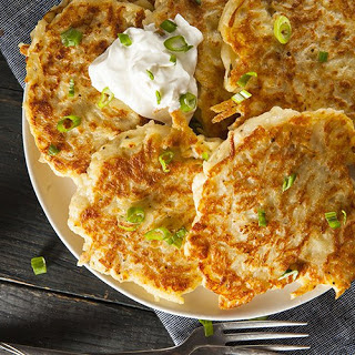 """How to make traditional Irish potato cakes or """"boxty""""."""