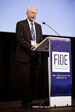 Photo: Foto: Lizette Kabré.  Mr Børge Dahl, Former President of the Supreme Court of Denmark (Højesteret)