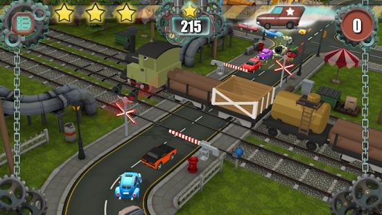 Železniční přejezd - náhled