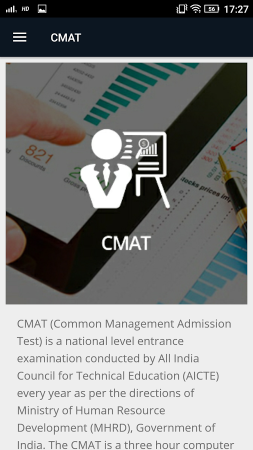 CMAT- screenshot