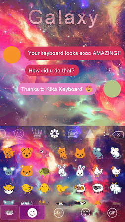 Galaxy Kika Keyboard Theme 376.0 screenshot 315707