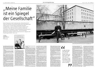 """Photo: (c) Detlev Schilke/detschilke.de - """"Meine Familie ist ein Spiegel der Gesellschaft"""" - Katrin Himmler ist die Gro§nichte des """"Reichsfxhrers SS"""" Heinrich Himmler. Dass dessen Brxder auch xberzeugte Nazis waren, hat sie in ihrem Buch """"Die Brxder Himmler"""" nachgewiesen - was ihr Teile der Familie bis heute nicht verzeihen. VON ALKE WIERTH / SUSANNE GANNOTT in der taz"""