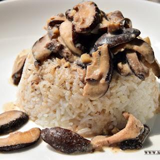 Mushroom in Coconut Milk