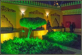 "Photo: Шарм эль Шейх. Во дворце ""Тысяча и одна ночь"".  Интерьер."