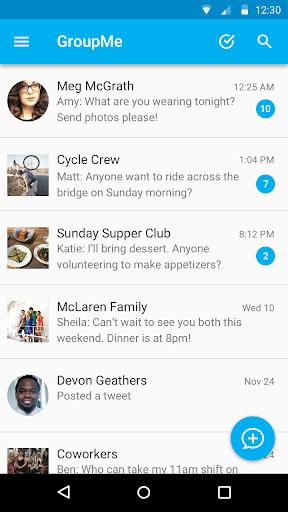 GroupMe screenshot 7
