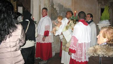 Photo: Processing into San Giuseppe with the bambino