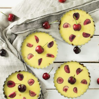 Booze-Soaked Cherry Tarts