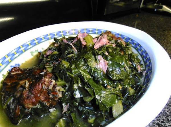 Skinny Drunken Collards Recipe