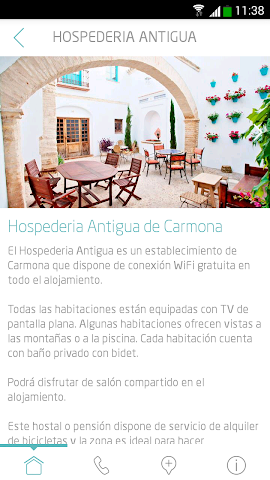 android H.A. Carmona Guest´s Guide Screenshot 1