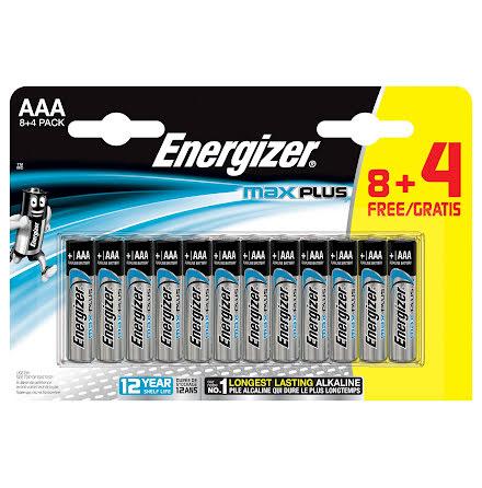 Batteri Energizer Max AAA 12fp