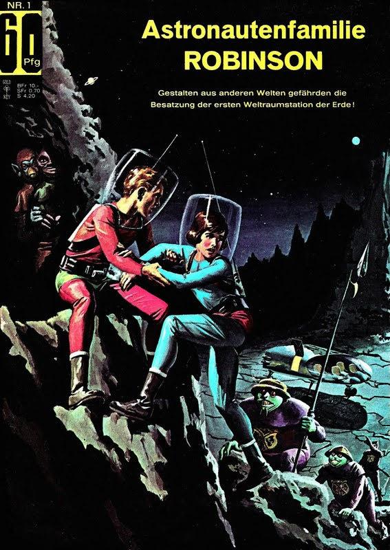 Astronautenfamilie Robinson (1966) - komplett