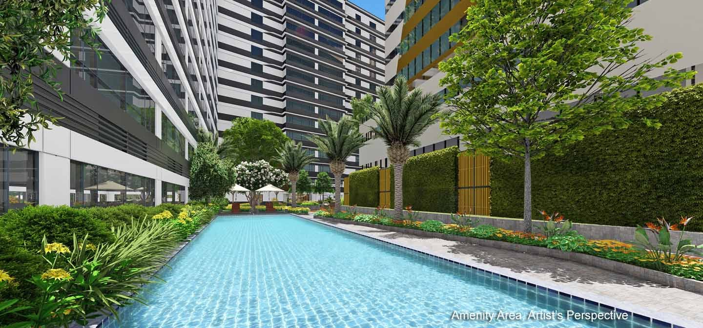 Gold Residences, Paranaque lap pool