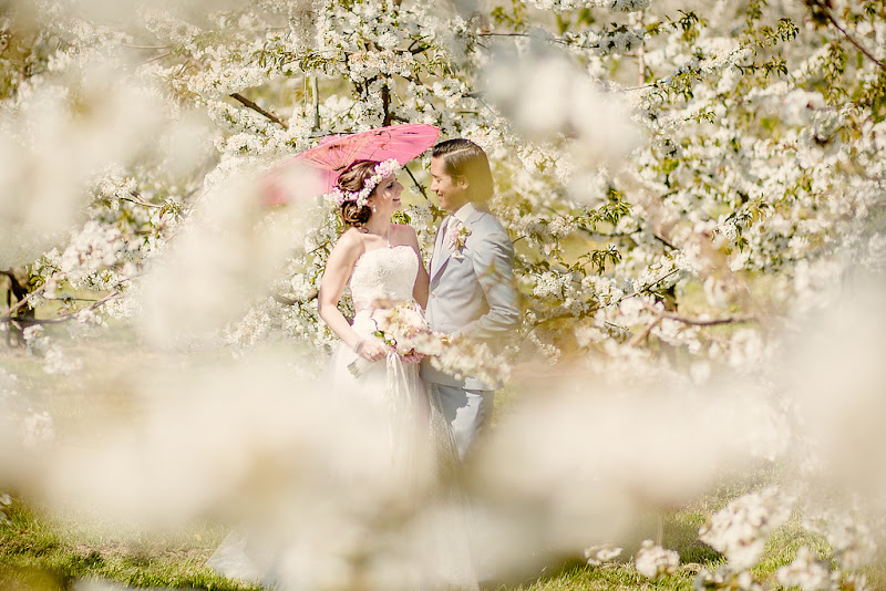 Blossom wedding shoot - fotocredits: Eppel Fotografie