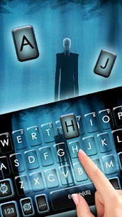 Slender Evil Man Keyboard Theme 1.0 Latest MOD APK 2
