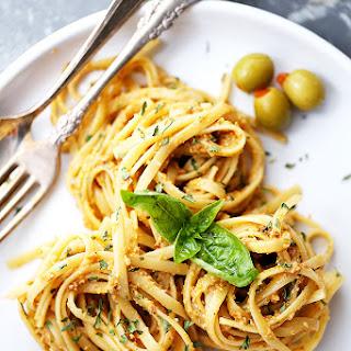 Olive Pesto Pasta