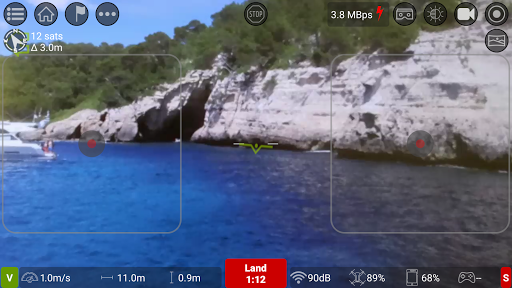 Screenshot for Tello FPV - Control the Ryze Tello drone FPV + RTH in Hong Kong Play Store
