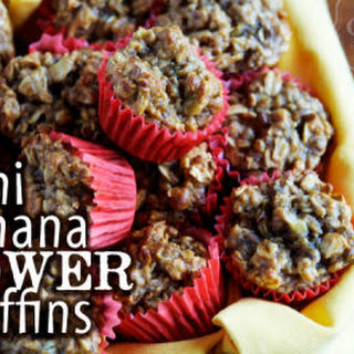 Mini Banana Power Muffins