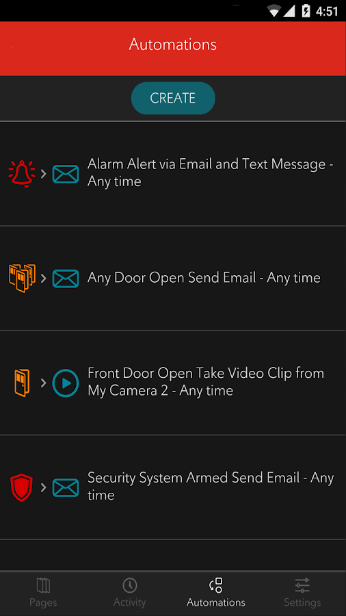 Rogers Smart Home Monitoring- screenshot