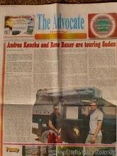 Photo: My v súdánskych novinách ;o) / We in sudanese newspaper
