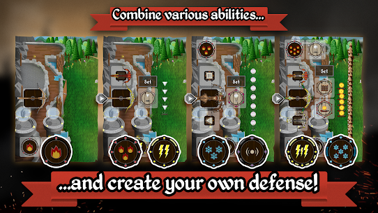Grim Defender – Castle & Tower Defense Apk Download For Android and Iphone 6