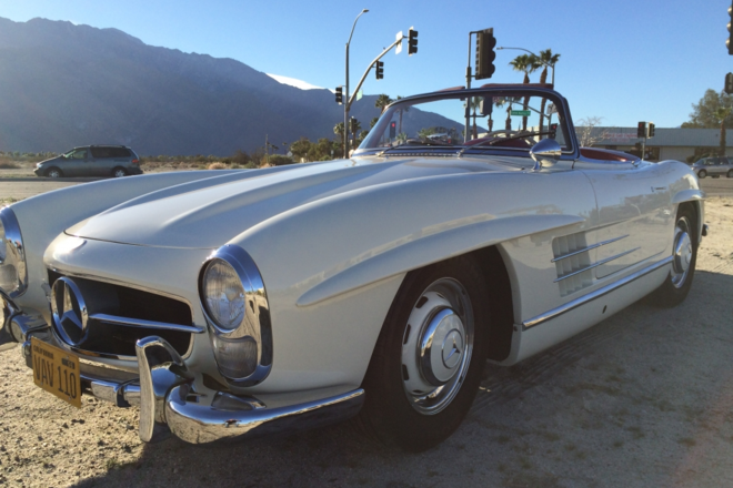 1958 Mercedes Benz 300 SL Hire CA
