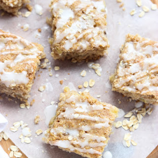 Banana Pineapple Oatmeal Breakfast Bars Recipe